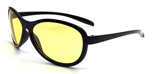 Oule Nachtsichtbrille Kontrast-Verstärkend Polarisiert UV380 Unisex