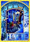 Adventskiesel auf dem Weihnachtsweg: Fensterbild-Adventskalender mit Begleitheft