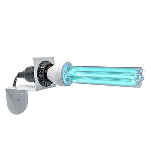 Ultraviolet Ozone Free Germicidal Light Bulb with a Magnetic Mount 254 nm UV UVC 25 W 110 V Quartz E26/E27