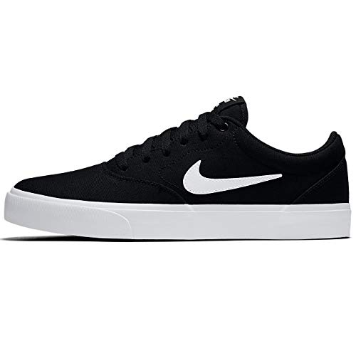 Nike Herren Sb Charge Solarsoft Skateboardschuhe, Black White, 43 EU