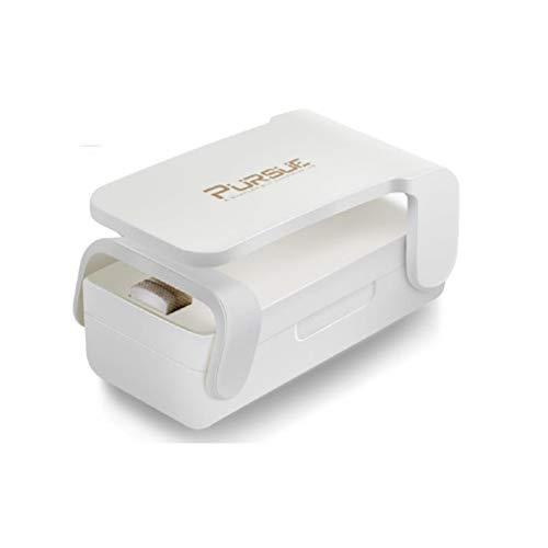 PURSUE Mini Bag Sealer, Handheld Heat Vacuum Sealers,2 in 1 Heat Sealer,Handheld Portable Bag Resealer Sealer for Plastic Bags Food Storage Snack Fresh Bag Sealer (Battery Not Included)
