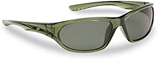 Flying Fisherman Remora JR Angler Polarized Sunglasses, Crystal Green Frame, Smoke Lenses