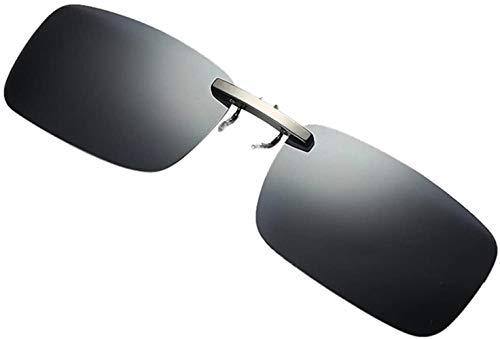 Fuibo Clearance zonnebril for mannen vrouwen Afneembare Van Vision Optics Night Training metalen clip Polarize On Zonnebrillen (grijs (30% korting 4 of meer)