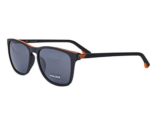 Police Lapis 2 SPL-963 VB3F - Gafas de sol, color negro mate - naranja mate - gris