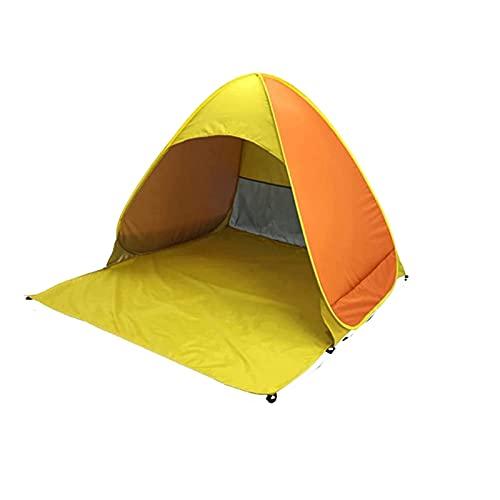 IENNSA Carpa de Playa automática Velocidad Impermeable Tienda Pop-Up Outdoor 2-3 Personas Cuelga Plegable del Refugio de Sol con Clavijas y Bolsa de Almacenamiento (Color : 165x150x110cm)