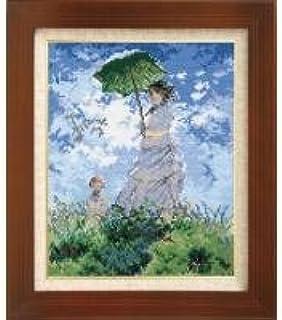 ししゅうキット 7215(オフホワイト) アートギャラリー 「日傘をさす女」モネ作 0622457