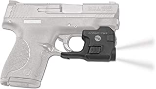 Crimson Trace Lightguard Weapon Light with Ambidextrous Controls, 2 Modes and Heavy Duty Construction for Tactical Carry, CCW and Competition