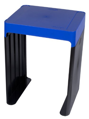 Five Star Locker Accessories Locker Shelf Stackable Holds up to 150 pounds Fits 12 inches Width Lockers Blue 72226