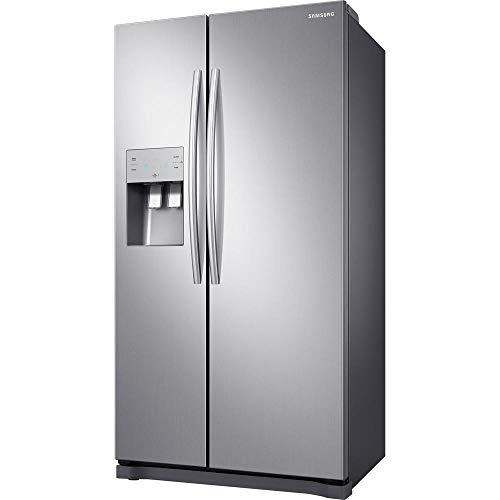 Geladeira/Refrigerador Samsung Side By Side Frost Free, 501L, 2 Portas, Inox - RS50N3413S8