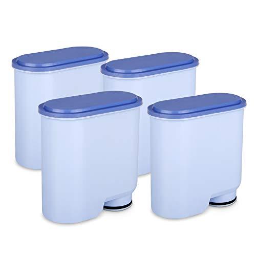 Tikola Wasserfilter für Philips und Saeco Kaffeemaschinen, arbeiten mit Philips Saeco Kaffeemaschine, AquaClean Filter CA6903 (4 Wasserfilter)