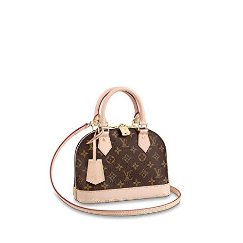 Louis Vuitton Alma BB Top Handle Bag (Monogram)