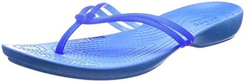 crocs Damen Isabella Flip Flop, Blau (Cerulean Blue/Ocean), 36 EU
