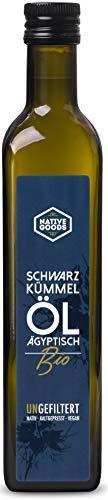 Schwarzkümmelöl BIO | UNGEFILTERT - ägyptisch - kaltgepresst - nativ | native goods - 500ml