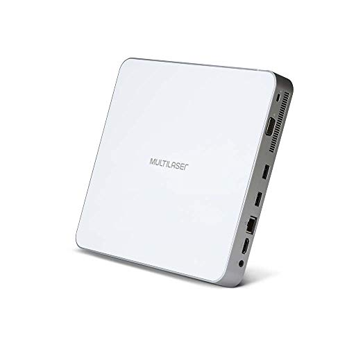 Mini PC Slim Urban Intel Core i3 4GB 120GB SSD Branco Linux Multilaser – DT020 DT020