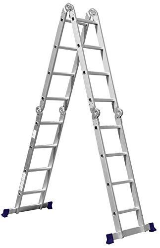 Escada Multifuncional 4x4 16 Degraus Mor