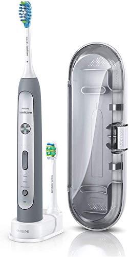 Philips Philips HX9112/12 Sonicare HX9112 Elektrische Zahnbürste - FlexCare Platinum Grau/Weiß