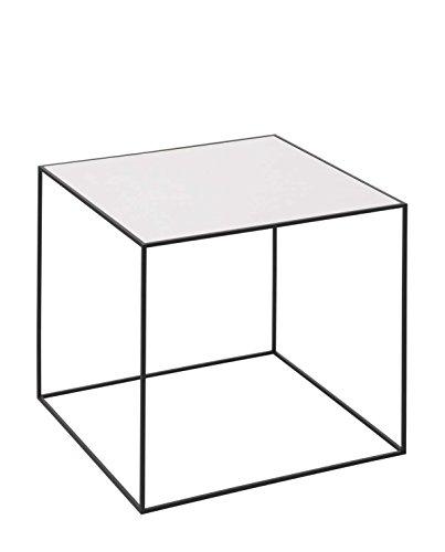 By Lassen Beistelltisch Twin Table Eiche-Weiß