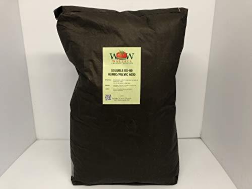 Wallace Organic Wonder, Soluble Humic & Fulvic Acid Powder (55-Pounds)