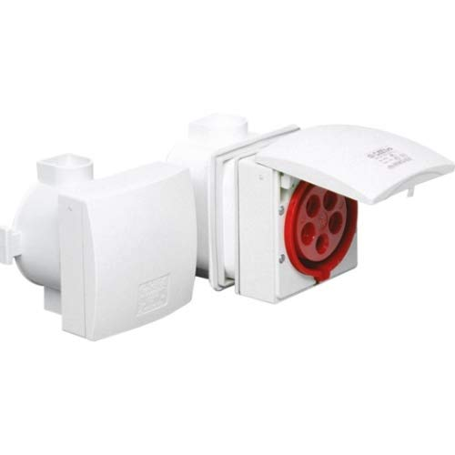 CEE - Unterputz - Steckdose IP 44, 5-polig, 400 V, 6h