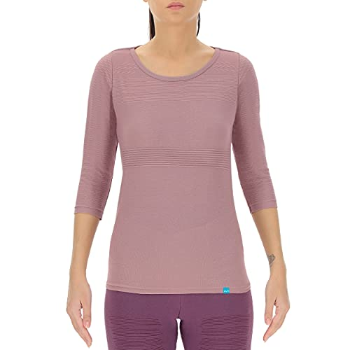 UYN Lady Natural Training Eco Color OW Shirt Three Quarter SL Chaqueta, Very Grape, Extra-Large para Mujer