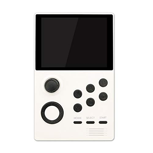 HAHALE Smart Android Supretro Portable Console de Jeux IPS écran intégré 3000 + Jeux 30 Jeux 3D WiFi Télécharger,Blanc