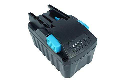 PowerSmart® Batería de ion de litio de 28 V para taladro Milwaukee M28, M28, 28 V, 1/2 pulgadas, M28, 28 V, ion de litio, 1/2 pulgadas, inalámbrico, ángulo recto recto (3000 mAh)