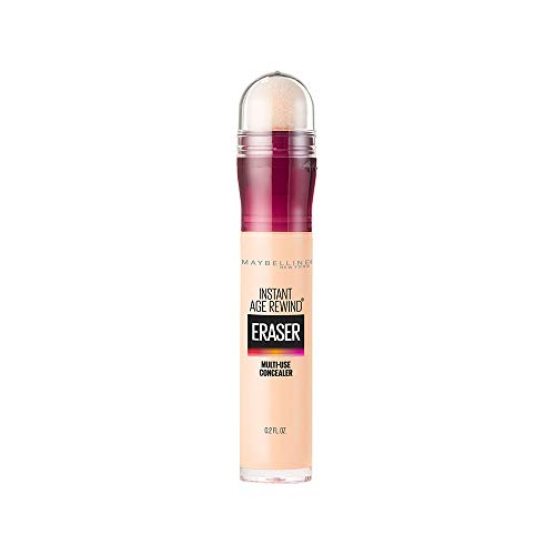 Price comparison product image Maybelline Instant Age Rewind Eraser Dark Circles Treatment Multi-Use Concealer,  Ivory,  0.2 Fl Oz (Pack of 1)