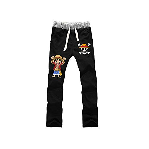 Pantalones De Jogging Hombres Mujeres Jogger Anime One Piece Luffy Law Impresos Cosplay Gym Joggers Pantalones De Chndal De Ajuste Pantalones Deportivos Casuales L
