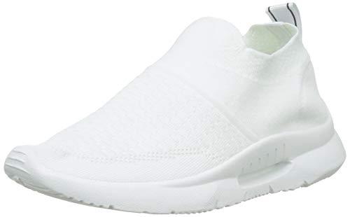 XTI 49098, Zapatillas sin Cordones para Mujer, Blanco, 39 EU