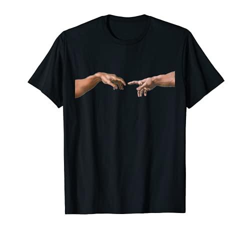 Creation of Adam von Michelangelo T Shirt