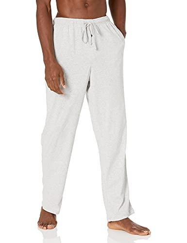 Amazon Essentials Knit Pajama Pant Bottoms, Gris Claro, US L (EU L)