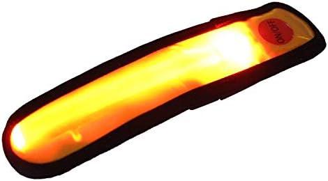 eJiasu Splashproof LED Sport Safety Armband High Visibility Flashing Reflective Running Armband product image