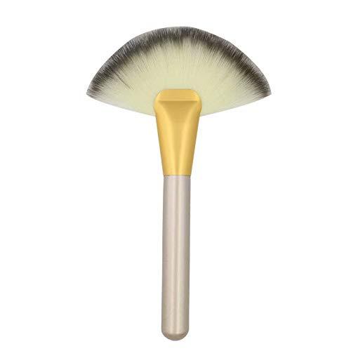 Makeup Brush Blending Large Pinceau de Maquillage pour Contour Poudre Outil Cosmétique(Bois)