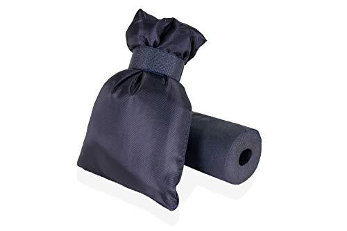 Preisvergleich Produktbild Swoote Thermoschutz Garten Wasserhahn Abdeckung Schwarz mit Isolierschaum für Frostschutz im Winter