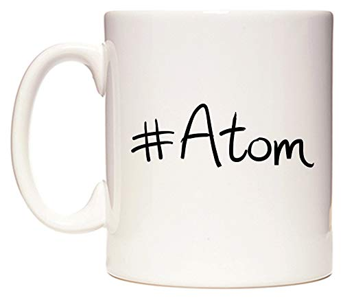 #Atom Mug Cup by WeDoMugs