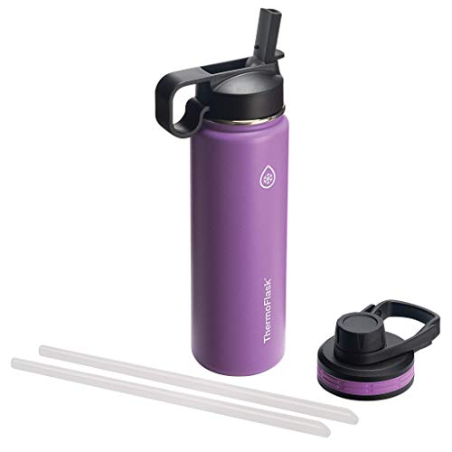 Thermoflask Plum Double Stainless Steel Insulated (Water Bottle, 24 oz)