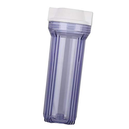 Fenteer Botella de Filtro de Purificador de Agua Pieza de Filtro de Agua Potable con Conector de 1/2'