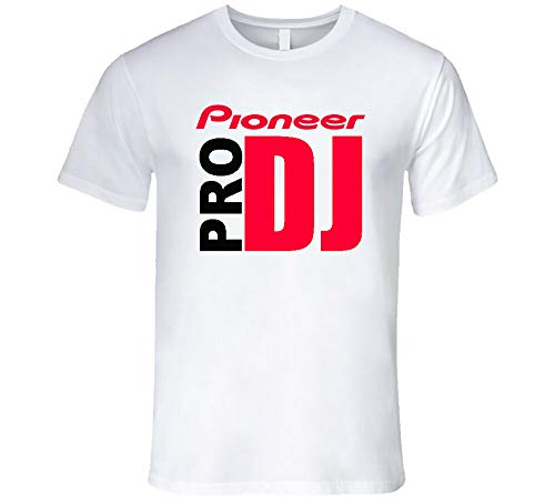 Hot Pioneer Pro Dj Party Techno Music EDM Nexus 2000 Ddj Djm Cdj White T-Shirt