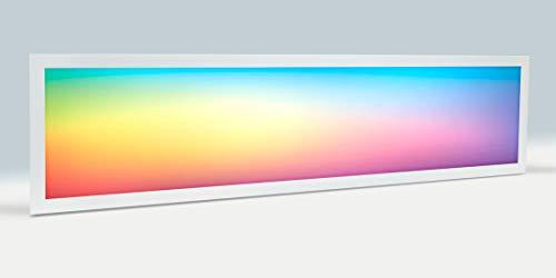 [RGBWW] Pannello LED, 30 x 120 cm, 40 W, con trasformatore (RGB+ 2700K-6000K) CCT