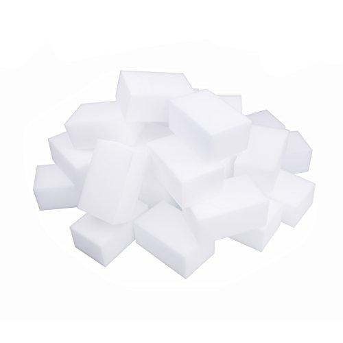 LTWHOME Magique Nettoyant Gomme Eponge Mélamine Mousse de Haute Qualité 110 X 70 X 50mm, Grande Taille (Paquet de 28)