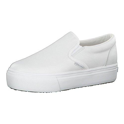 Superga Damen 2398-NAPPALEAW Sneaker, Weiß (White 900), 39 EU