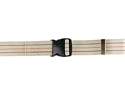 Blue Jay Gait Belt, 2 in. x 60 in. - Belt with Safety Release, Gait Belt with Plastic Buckle, Belt for Elderly, Physical Therapy Transferring Belts. Medical Supplies and Equipment