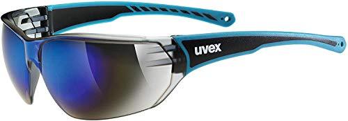 uvex Unisex– Erwachsene, sportstyle 204 Sportbrille, blue/blue, one size