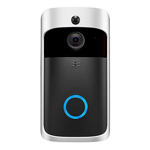 Kaijia Inalámbrico WiFi Video Timbre De Puerta Teléfono Inteligente Anillo De La Puerta Intercomunicador Cámara De Seguridad