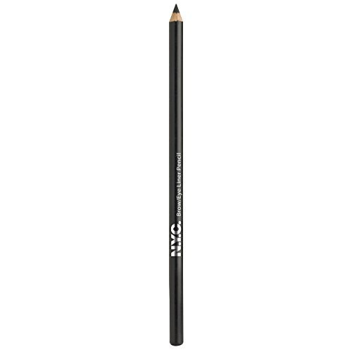 NYC Eye Brow & Liner Pencil Jet Black by NYC