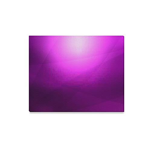 XHYYY Leinwand Wandkunst abstrakt lila Kurve Hintergrund Gemälde Leinwand Wanddrucke Kunst für Wohnzimmer Schlafzimmer Schlafzimmer Dekoration für Moderne Wohnkultur