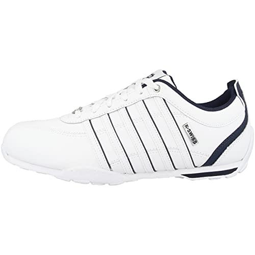 K-Swiss Herren Arvee 1.5 Sneaker, White/Blue Horizon, 44 EU