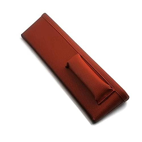 BAWAQAF Bolsillos para asientos de coche de cuero para asientos de auto de llenado de fugas almohadilla espaciadora funda organizador de teléfono bolsas de almacenamiento