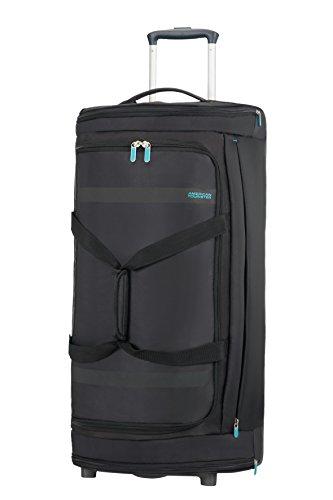 American Tourister Herolite Duffle/WH Bolsa de Viaje, 79 cm, 95 Litros, Color Negro