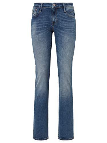 Mavi Olivia Damen Straight Jeans ,Blau (Dark Blue Str 24929),W27/L32